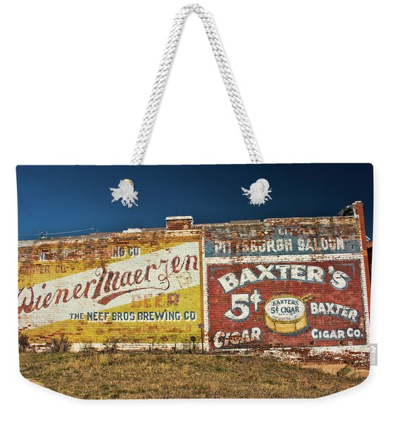 Victor Colorado Building Murals Weekender Tote Bag