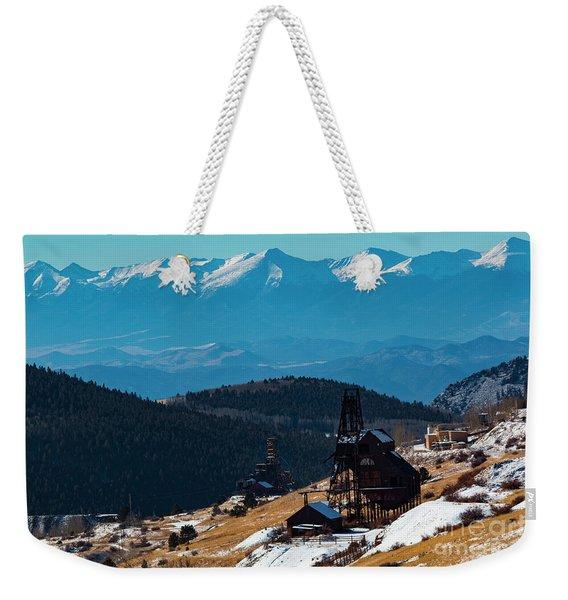 Victor Gold Mine Weekender Tote Bag