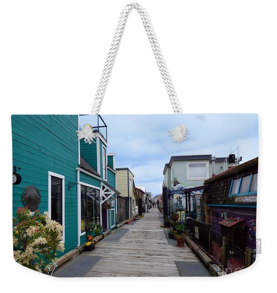 Victoria British Columbia Fisherman's Wharf Weekender Tote Bag