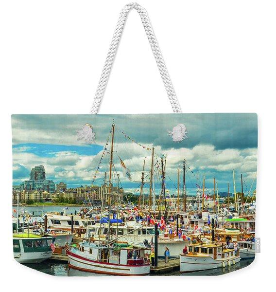 Victoria Harbor 1 Weekender Tote Bag