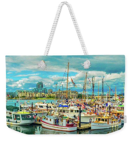 Victoria Harbor 2 Weekender Tote Bag