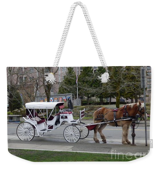 Victoria Horse Carriages Weekender Tote Bag