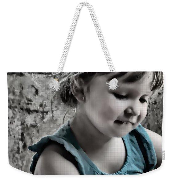 Victoria In Blue Weekender Tote Bag