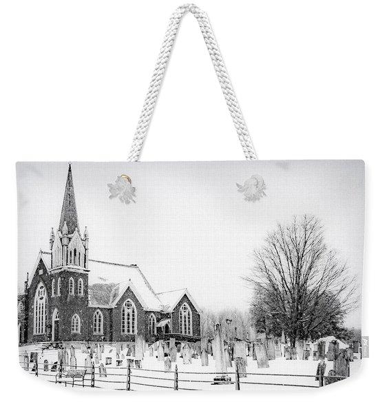 Victorian Gothic Weekender Tote Bag