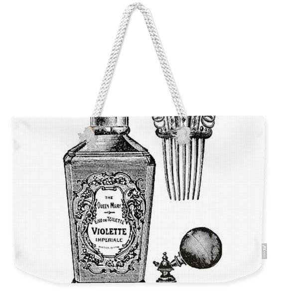 Victorian Perfume Phone Case Weekender Tote Bag