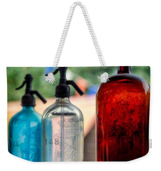 Victorian Soda Syphon Weekender Tote Bag