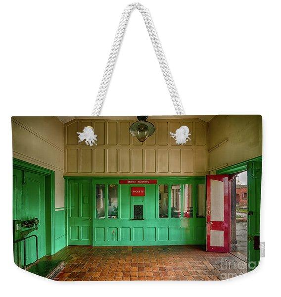 Victorian Ticket Office Weekender Tote Bag