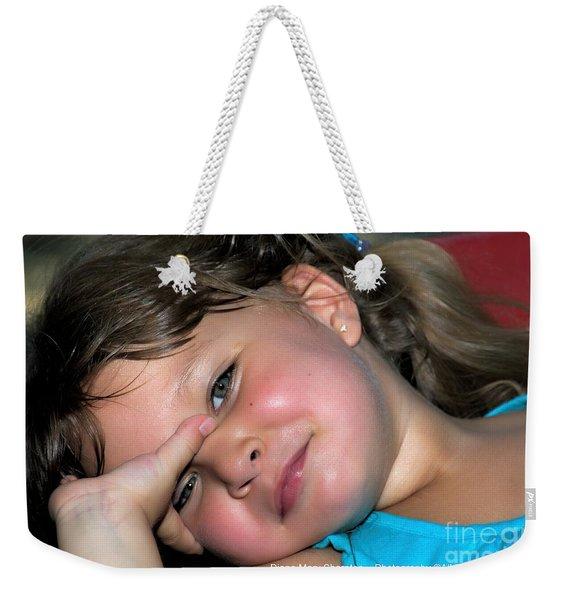 Victorias Smile Weekender Tote Bag