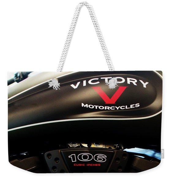 Victory 106 111116 Weekender Tote Bag