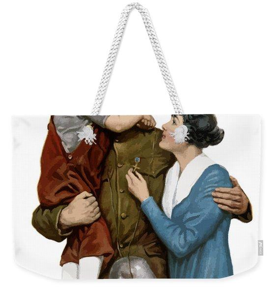 Victory Liberty Loan - World War One  Weekender Tote Bag