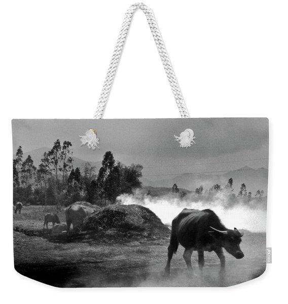 Vietnamese Water Buffalo  Weekender Tote Bag