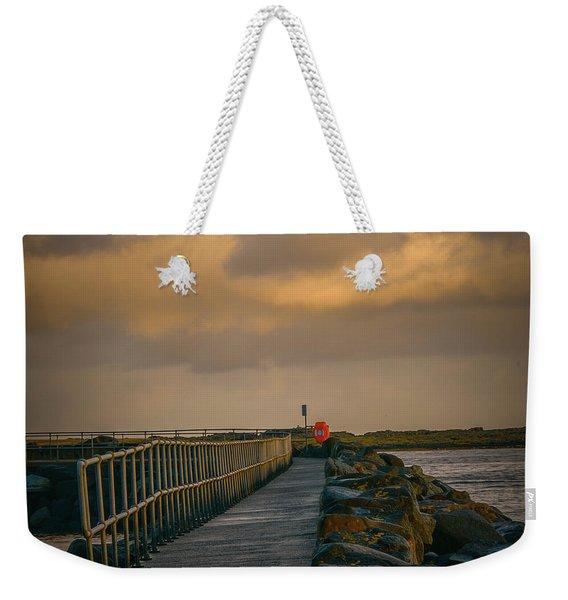 View At Staffin 1 #g9 Weekender Tote Bag