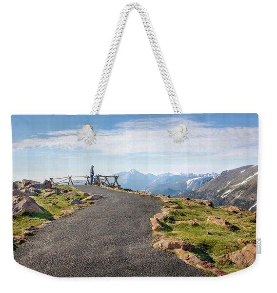 View At The Top Weekender Tote Bag