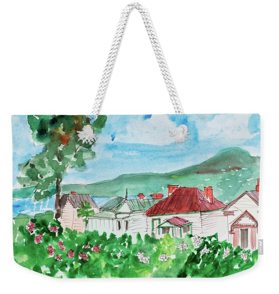 View From Battery Point Weekender Tote Bag