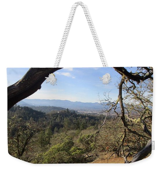 View From Cathedral Hills Weekender Tote Bag