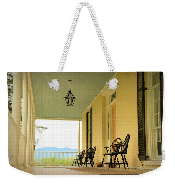 View From Cedar Grove Weekender Tote Bag