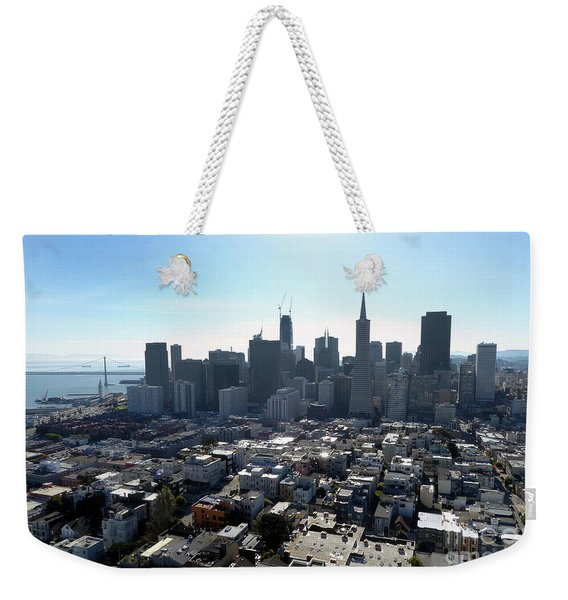 View From Coit Tower Weekender Tote Bag