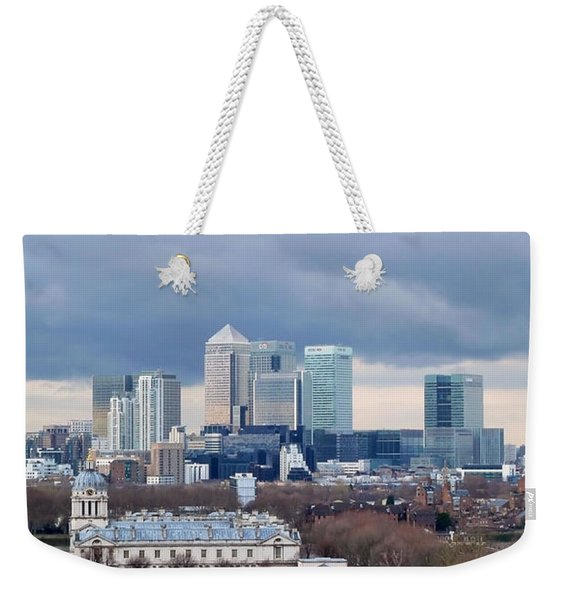 View From Greenwich 4 Weekender Tote Bag