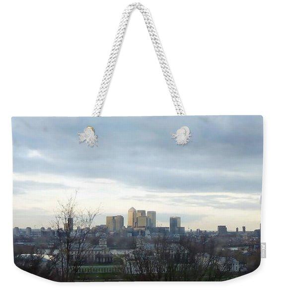 View From Greenwich 5 Weekender Tote Bag