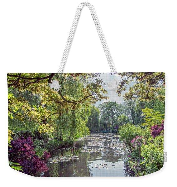 View From Monet's Bridge Weekender Tote Bag