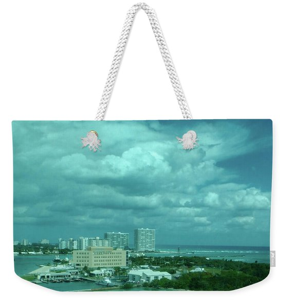 View From Port Everglades Weekender Tote Bag