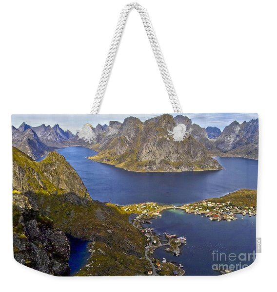 View From Reinebringen Weekender Tote Bag