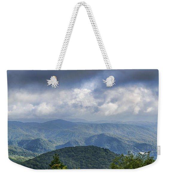 View From Roan Mountain Weekender Tote Bag