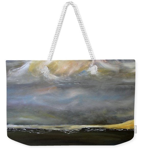 View From The Bow Weekender Tote Bag