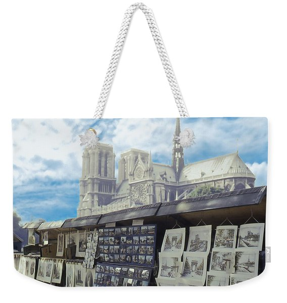 View From The Left Bank Weekender Tote Bag
