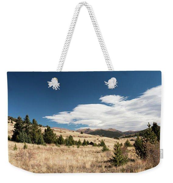 View From Vindicator Valley Trail Weekender Tote Bag