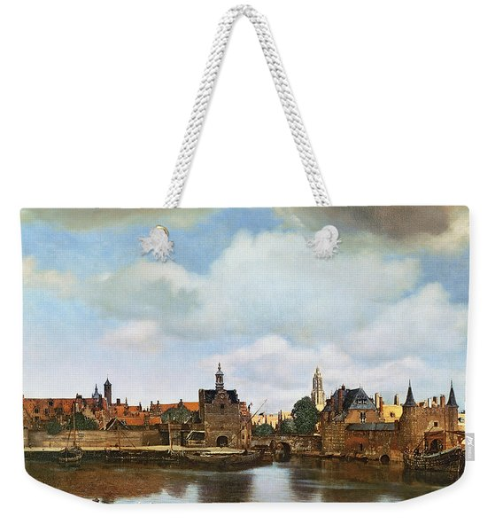 View Of Delft Weekender Tote Bag