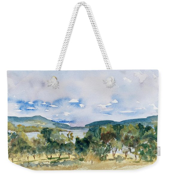 View Of D'entrecasteaux Channel From Birchs Bay, Tasmania Weekender Tote Bag