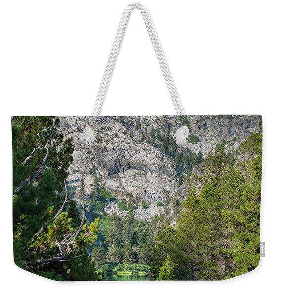 View Of Eagle Lake Weekender Tote Bag
