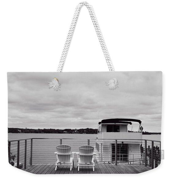 View Of Lake Minnetonka Weekender Tote Bag
