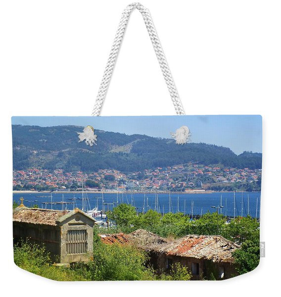 View Of Meira Weekender Tote Bag