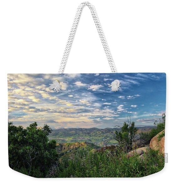 View Of Simi Valley Weekender Tote Bag