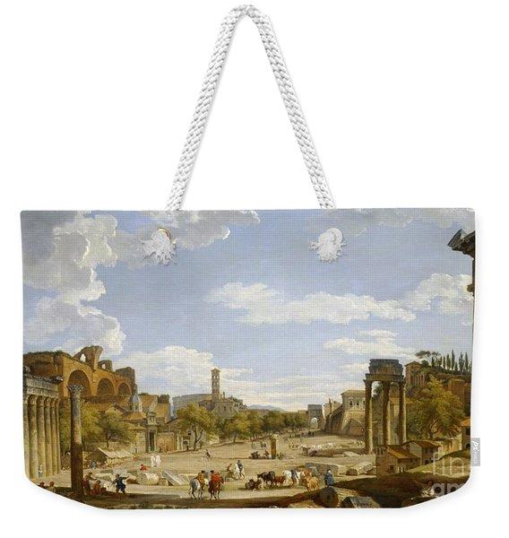 View Of The Roman Forum Weekender Tote Bag