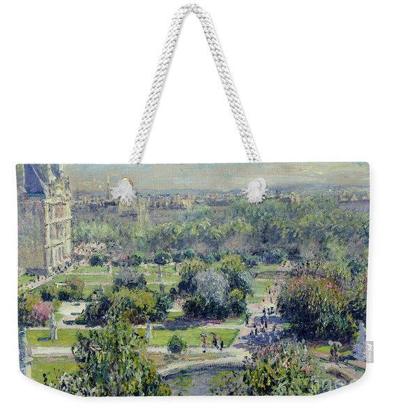 View Of The Tuileries Gardens Weekender Tote Bag