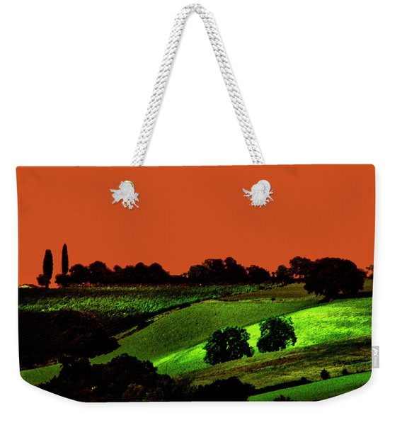 View Of Tuscany Weekender Tote Bag