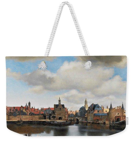 View On Delft Weekender Tote Bag