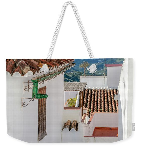 View Over The Roofs Weekender Tote Bag