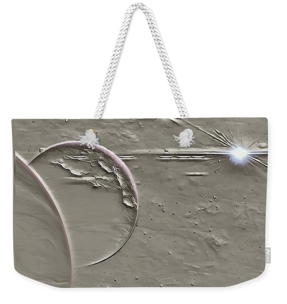 View To A Gray Universe Weekender Tote Bag