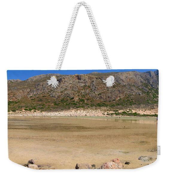 View To Gramvousa Weekender Tote Bag