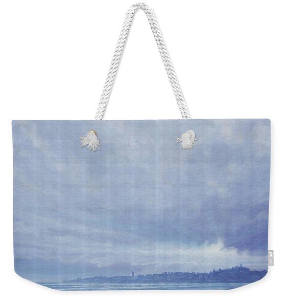 View To St Andrews  Weekender Tote Bag