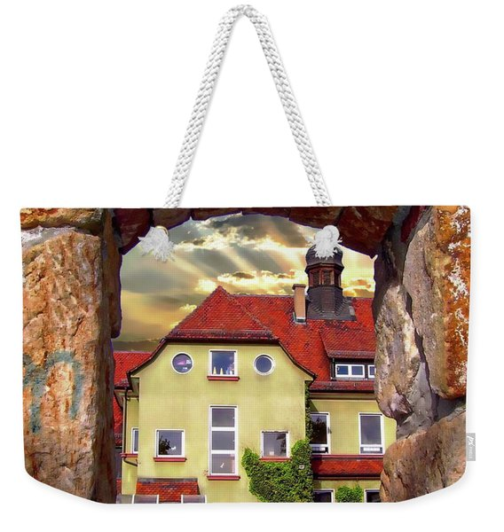 View To The Past Weekender Tote Bag