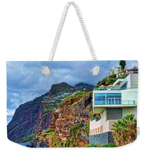 Viewpoint Over Camara De Lobos Madeira Portugal Weekender Tote Bag