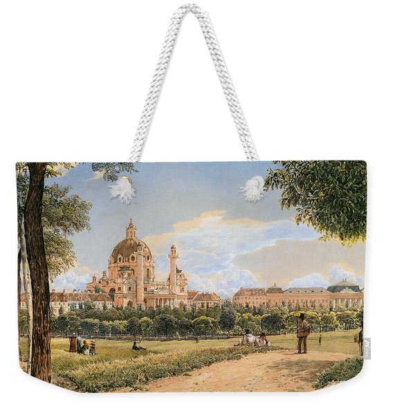 Views Of The Karlskirche And The Polytechnic Institute Weekender Tote Bag
