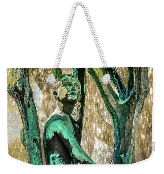 Vigeland Boy In Tree Fountain Weekender Tote Bag
