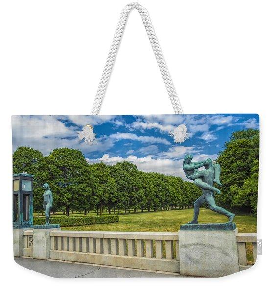 Vigeland Park Weekender Tote Bag