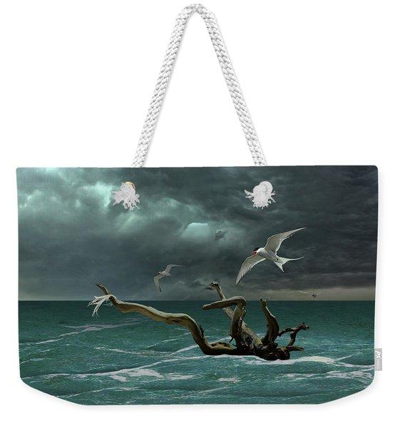 Vigil At Sea Weekender Tote Bag